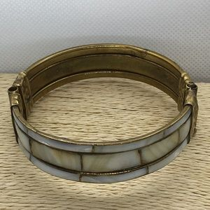 Jewelry - Mother of pearl inlaid bangle